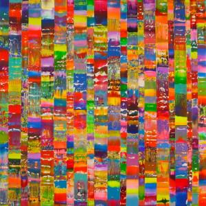 Flux 2015, 150 x 150 cms