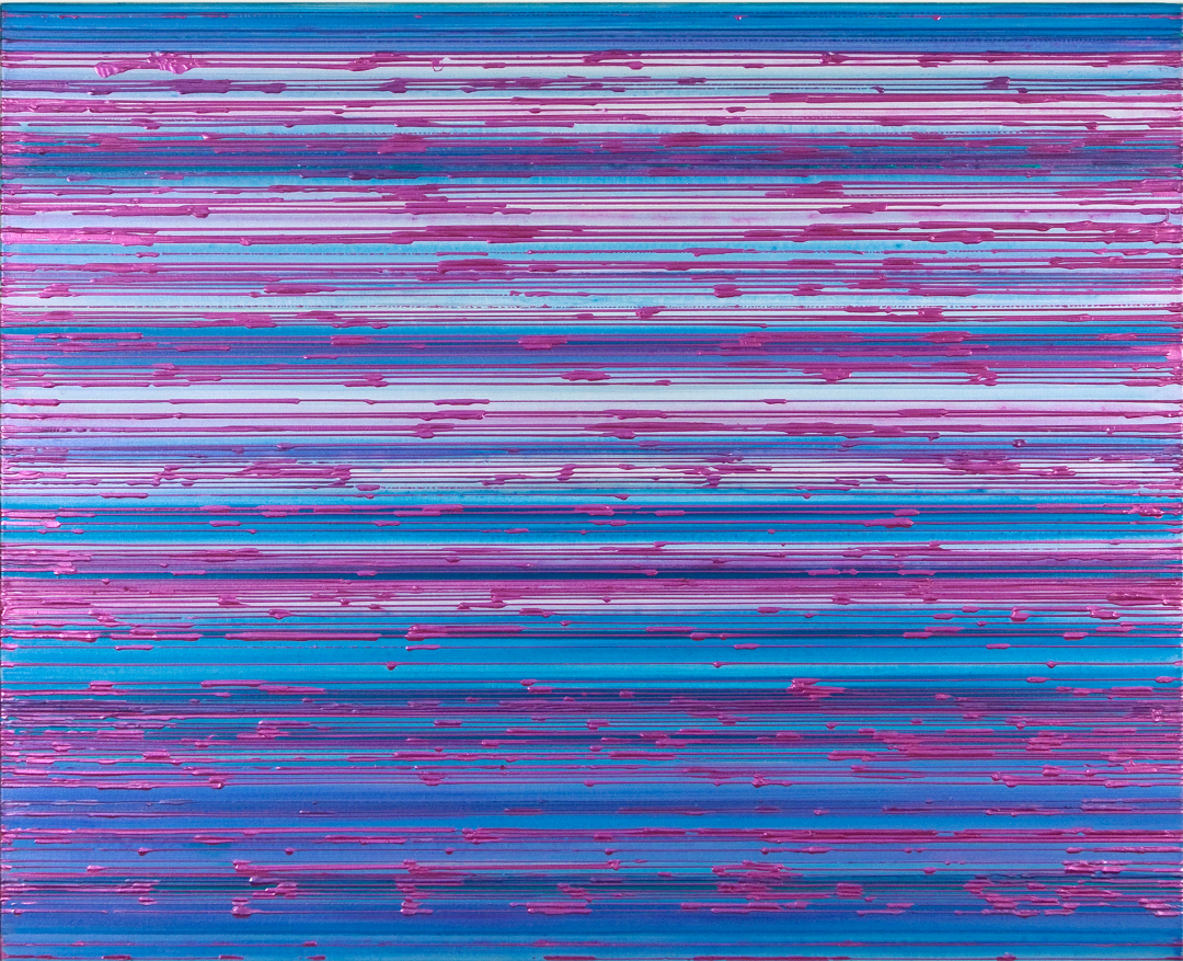 Interference Blue Purple Red 2009