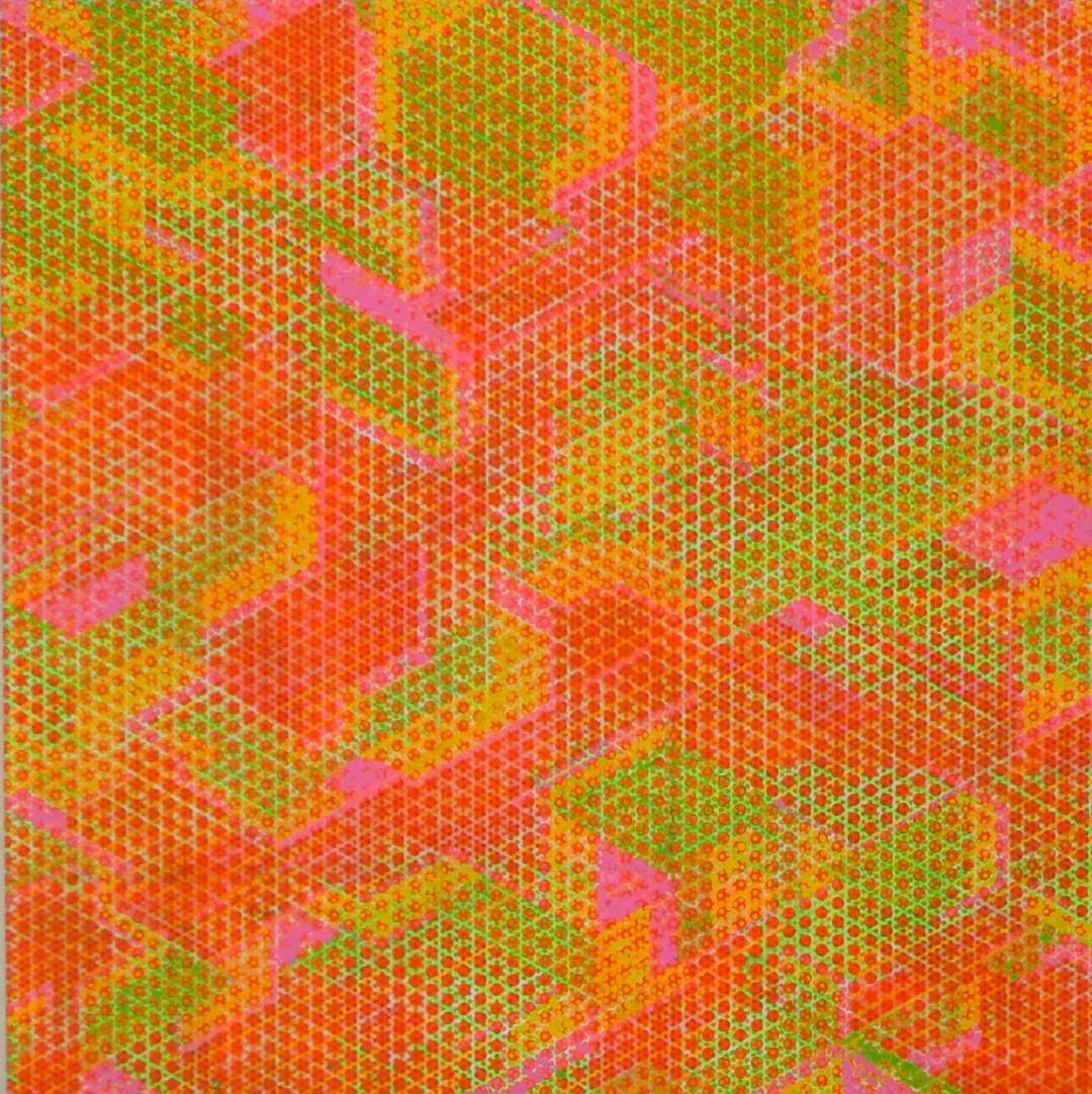 Synthesis Orange Pink Green 2014